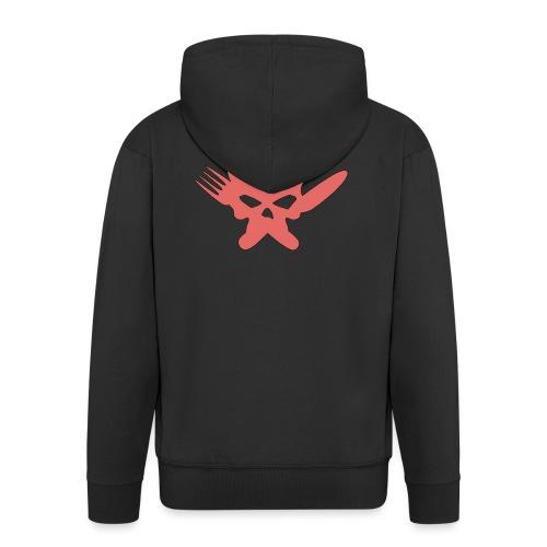 Skull Collection | FatLadFood - Men's Premium Hooded Jacket