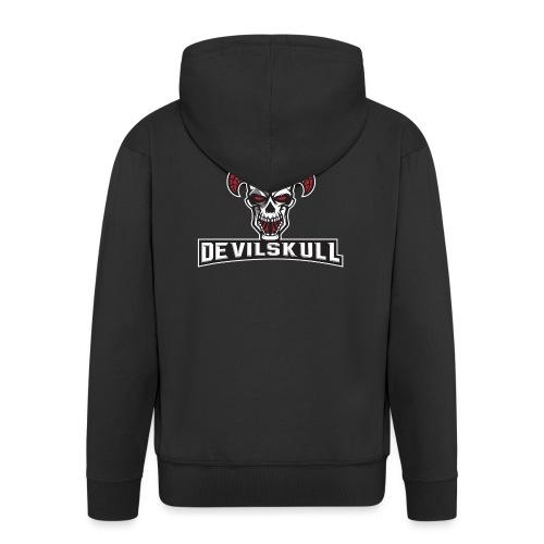 Devilskull - Männer Premium Kapuzenjacke