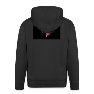 SheriffPB unisex hettegenser - Premium Hettejakke for menn