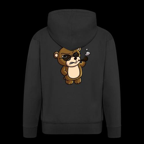 AngryTeddy - Men's Premium Hooded Jacket