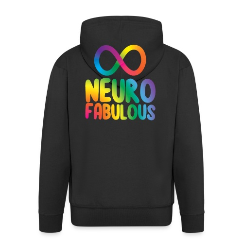Neurofabulous - Men's Premium Hooded Jacket