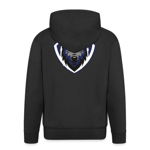 lobo2 - Chaqueta con capucha premium hombre