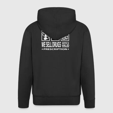 pilules pharmacien comprimés médecin de médecine d'urgence - Veste à capuche Premium Homme