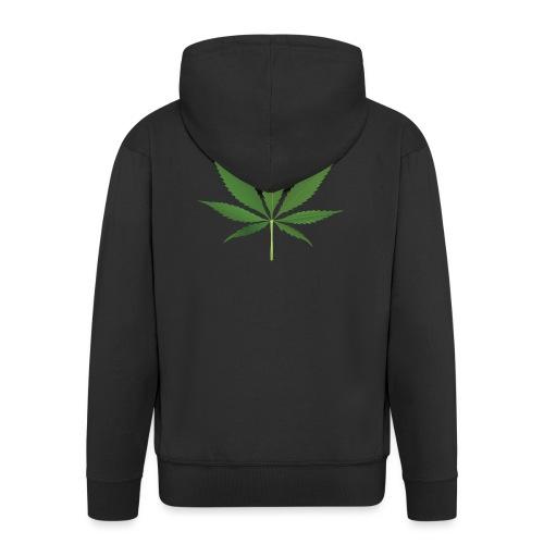 Weed - Men's Premium Hooded Jacket