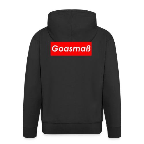 Goasmaß - Männer Premium Kapuzenjacke