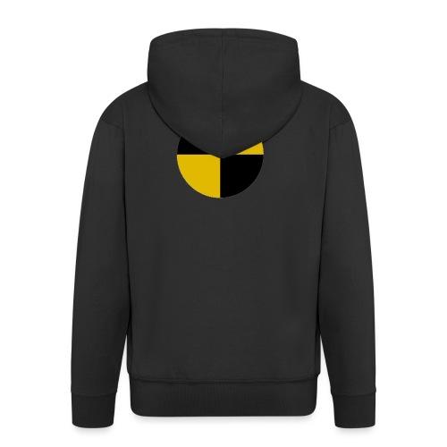 crash test - Men's Premium Hooded Jacket