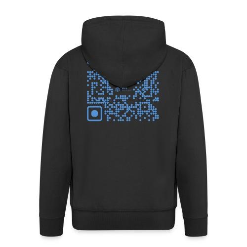QR The New Internet Shouldn t Be Blockchain Based - Men's Premium Hooded Jacket