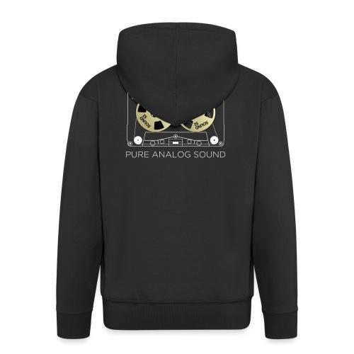 Reel golden cassette - Men's Premium Hooded Jacket