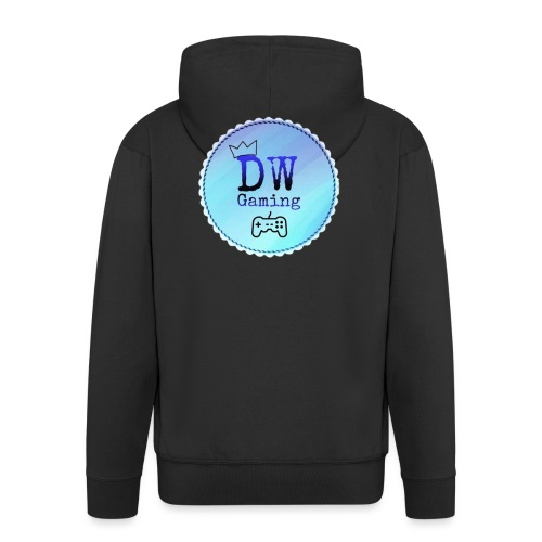 dw logo - Men's Premium Hooded Jacket