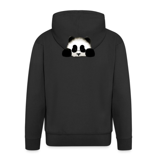 panda - Men's Premium Hooded Jacket