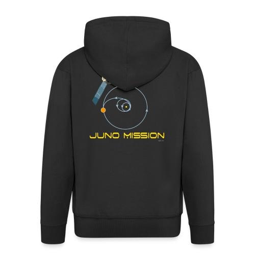 June_t-shirt - Felpa con zip Premium da uomo