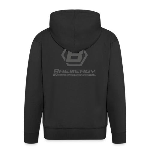Bremergy upright grey - Männer Premium Kapuzenjacke