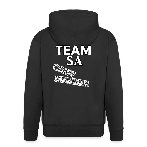 Team SA Crew Member Vit - Premium-Luvjacka herr