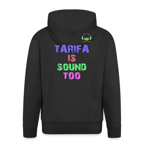 Tarifa tambiés es sonido - Chaqueta con capucha premium hombre