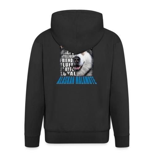 Alaskan Blue - Men's Premium Hooded Jacket