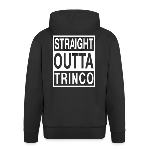 STRAIGHT OUTTA TRINCO - Men's Premium Hooded Jacket