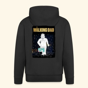 The Walking Dad - Homage - Männer Premium Kapuzenjacke