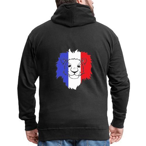 Lion France - Veste à capuche Premium Homme
