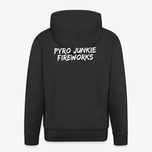 Pyro Junkie Fireworks - Männer Premium Kapuzenjacke