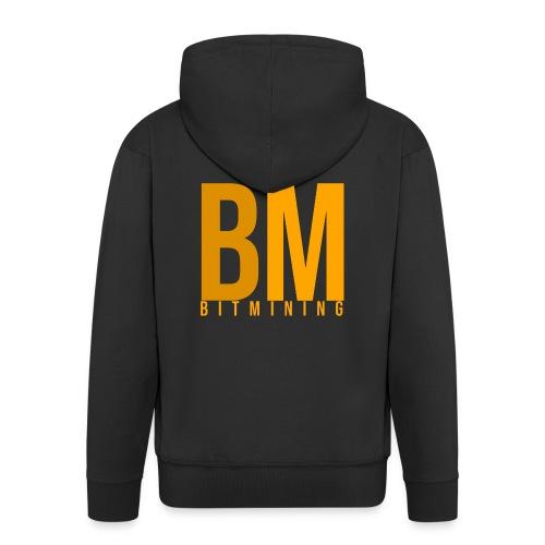 BitMining official Logo - Veste à capuche Premium Homme