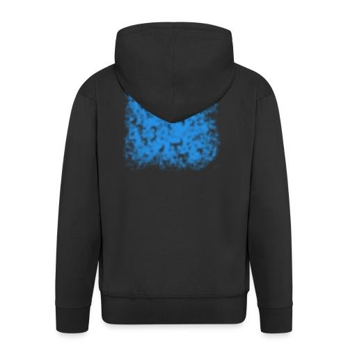 blue-transparent - Männer Premium Kapuzenjacke