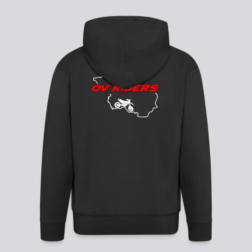 plain logo - Mannenjack Premium met capuchon