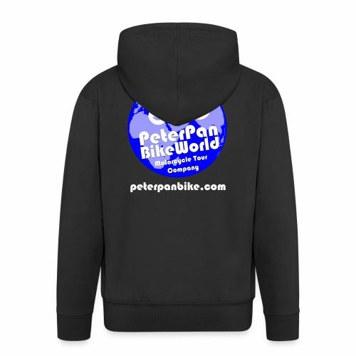 Black Is Beautiful :] - Men's Premium Hooded Jacket