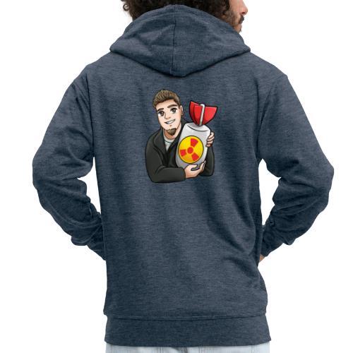 atomic bomb - Men's Premium Hooded Jacket