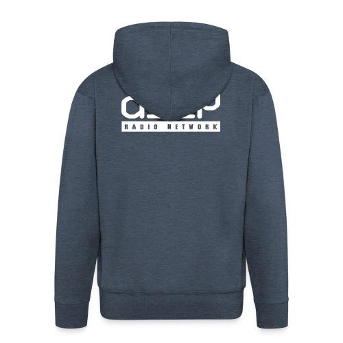 d3ep full white png - Men's Premium Hooded Jacket