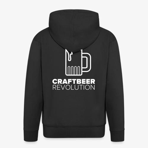 Craftbeer Revolution - Männer Premium Kapuzenjacke