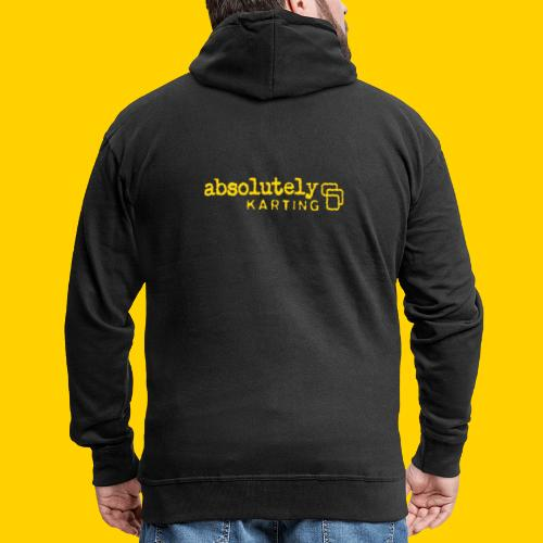 logo1yel - Men's Premium Hooded Jacket