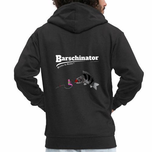 Barschinator - Barsch Angeln - Fishyworm - Männer Premium Kapuzenjacke