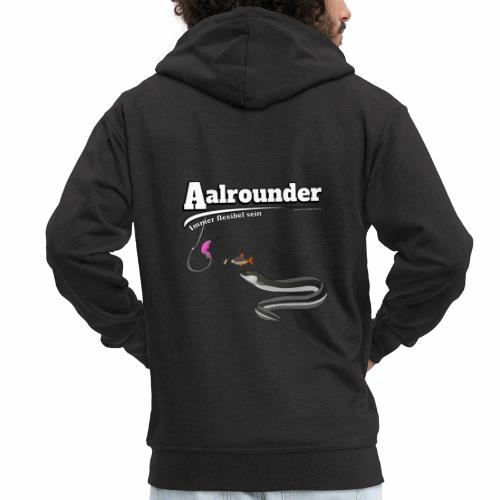 Aalrounder - Aal flexibel Angeln - Fishy Worm - Männer Premium Kapuzenjacke