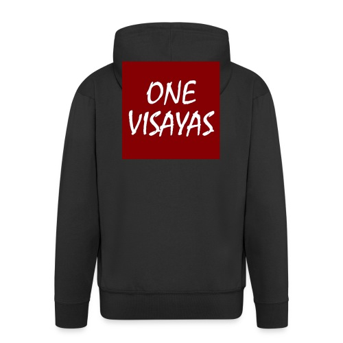 ONEVisayas Logo - Men's Premium Hooded Jacket