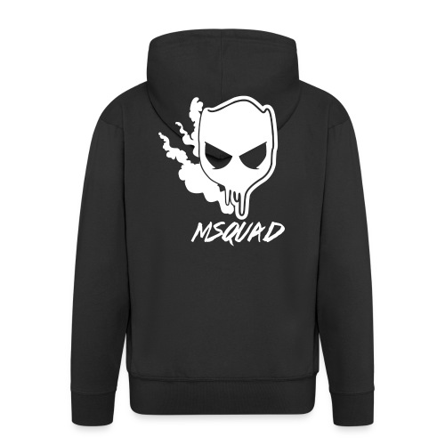 M-Squad T-Shirt - Miesten premium vetoketjullinen huppari