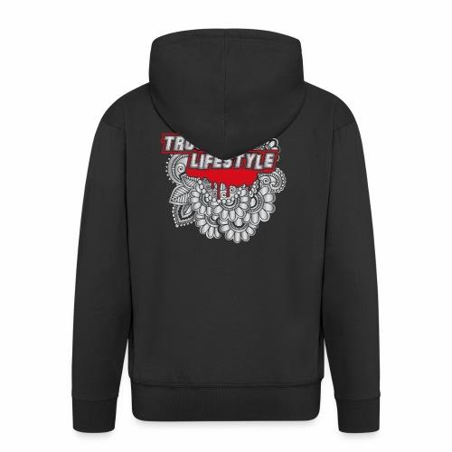 TruckMan LifeStyle - Men's Premium Hooded Jacket