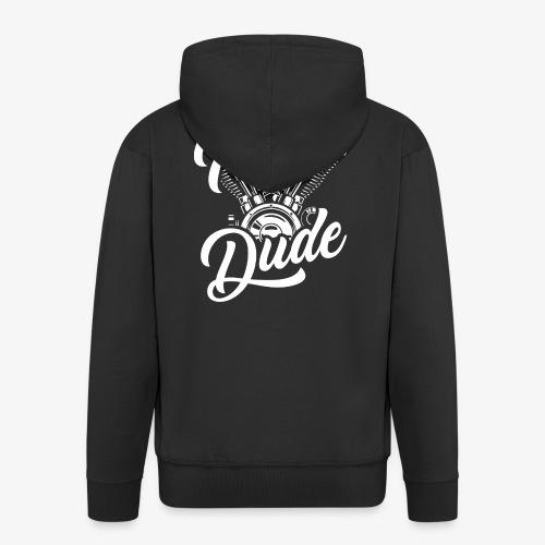 Iron Dude - Männer Premium Kapuzenjacke