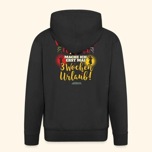 Sprüche T Shirt Weihnachten Neujahr Urlaub - Männer Premium Kapuzenjacke