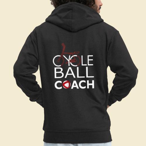 Radball   Cycle Ball Coach - Männer Premium Kapuzenjacke