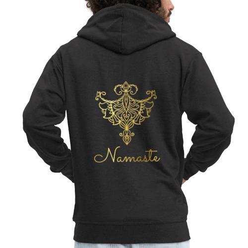 Namaste Collection - Men's Premium Hooded Jacket