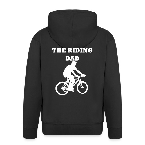 The riding dad T-Shirt - Männer Premium Kapuzenjacke