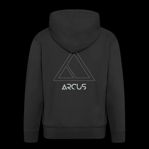 Arcus logo Blanc - Veste à capuche Premium Homme