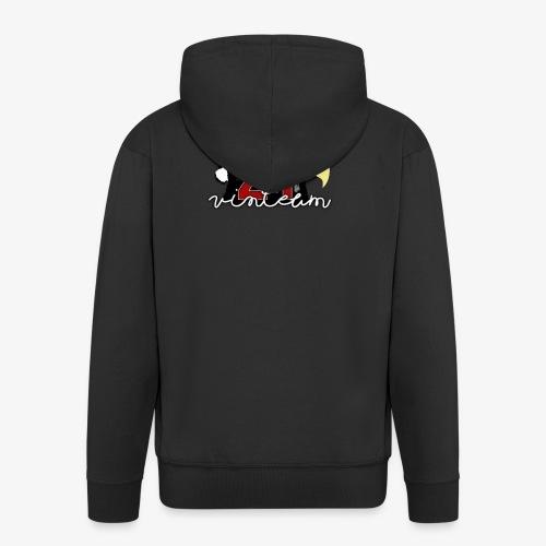 Vinte Um - Men's Premium Hooded Jacket