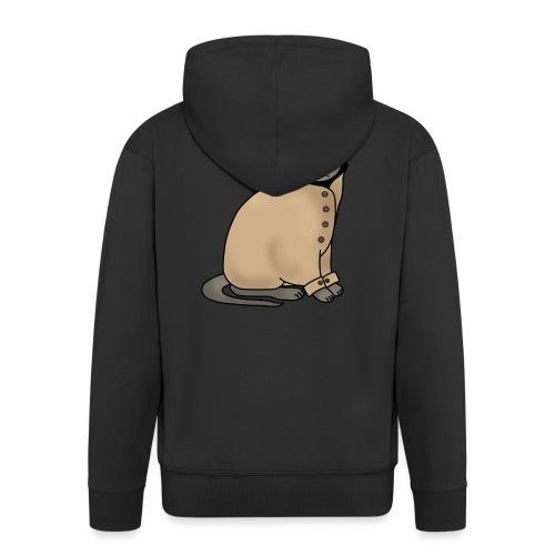 Secret cat - Men's Premium Hooded Jacket