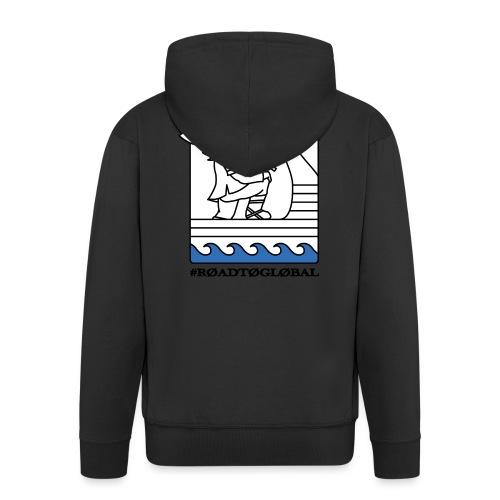 ROAD TO GLOBAL CS:GO - Men's Premium Hooded Jacket
