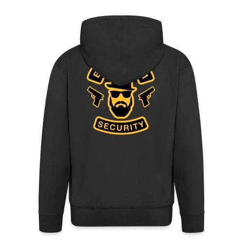 Bräutigam Security - JGA T-Shirt - Bräutigam Shirt - Männer Premium Kapuzenjacke