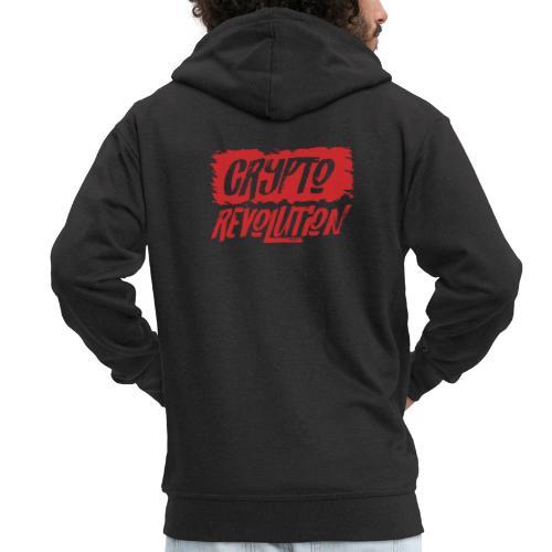 Crypto Revolution - Men's Premium Hooded Jacket