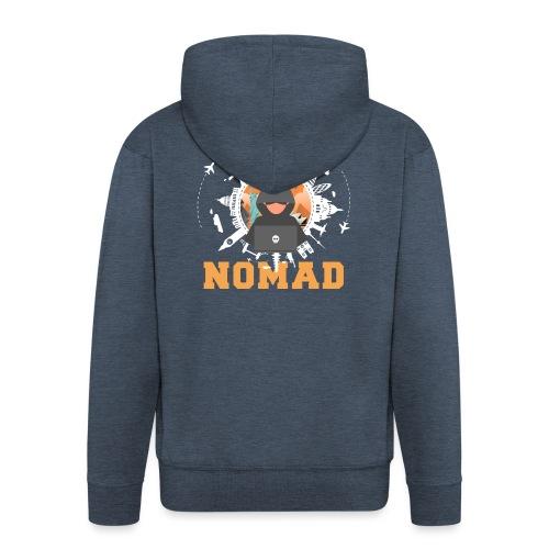 Digital Nomad - Männer Premium Kapuzenjacke