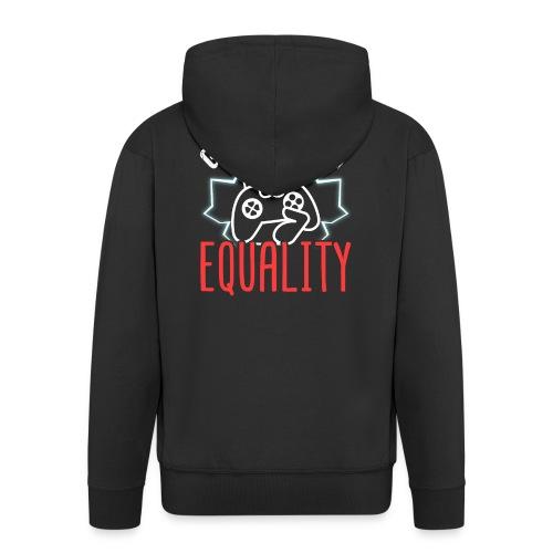 Gamers For Equality - Männer Premium Kapuzenjacke