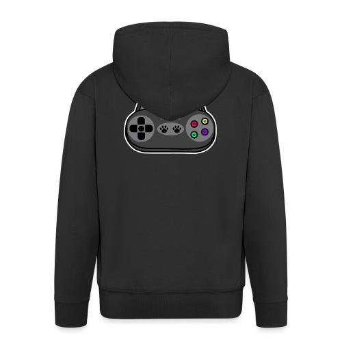 Katzen Gaming Kontroller - Männer Premium Kapuzenjacke